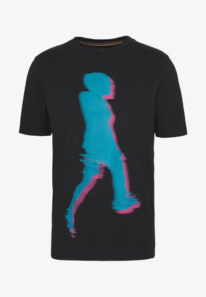 GENTS WALKER  - T-shirt imprimé - black