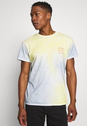 JORSOAP TEE CREW NECK - T-shirt z nadrukiem - ashley blue