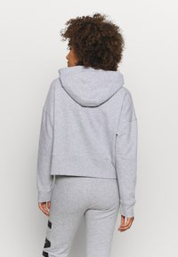 DKNY - EXPLODED LOGO HOODIE - Sweatshirt - pearl grey heather - 2
