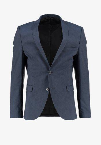 SHDNEWONE MYLOLOGAN - Suit jacket - medium blue melange