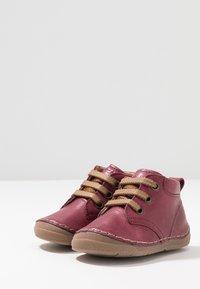 Froddo - Lær-at-gå-sko - bordeaux - 3