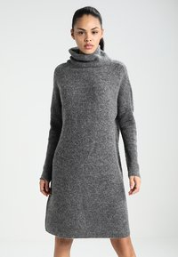 ONLY - ONLJANA COWLNECK DRESS  - Jumper dress -  grey - 0