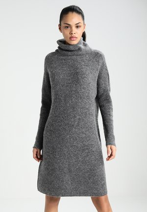 ONLJANA COWLNECK DRESS  - Pletené šaty -  grey