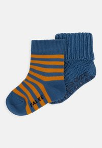 FALKE - STRIPE 2 PACK - Ponožky - pebble/stellar - 0