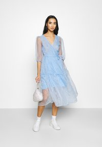 Monki - SARA DRESS - Day dress - blue light - 1