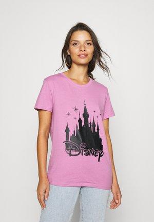 ONLDISNEY LIFE LOGO TOP BOX - Print T-shirt - opera mauve