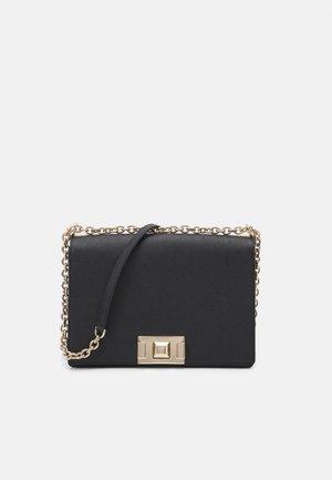 MIMI CROSSBODY - Across body bag - mottled black
