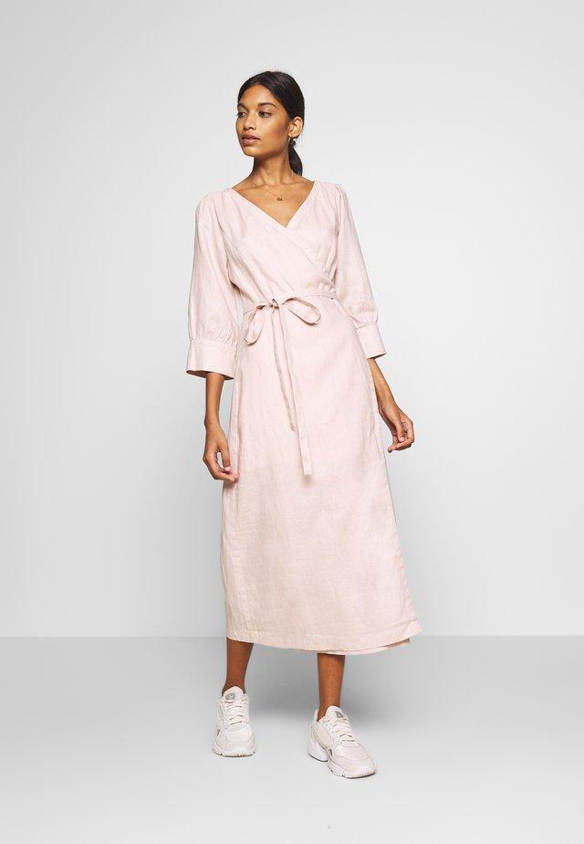 OLINA VRAP DRESS - Maxi dress - spring pink