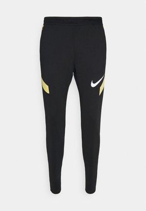 STRIKE PANT  - Pantalon de survêtement - black/saturn gold/white
