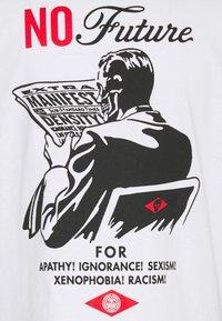 Obey Clothing - NO FUTURE - Printtipaita - white - 2