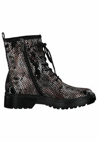 Tamaris - BOOTS - Lace-up ankle boots - snake comb - 3