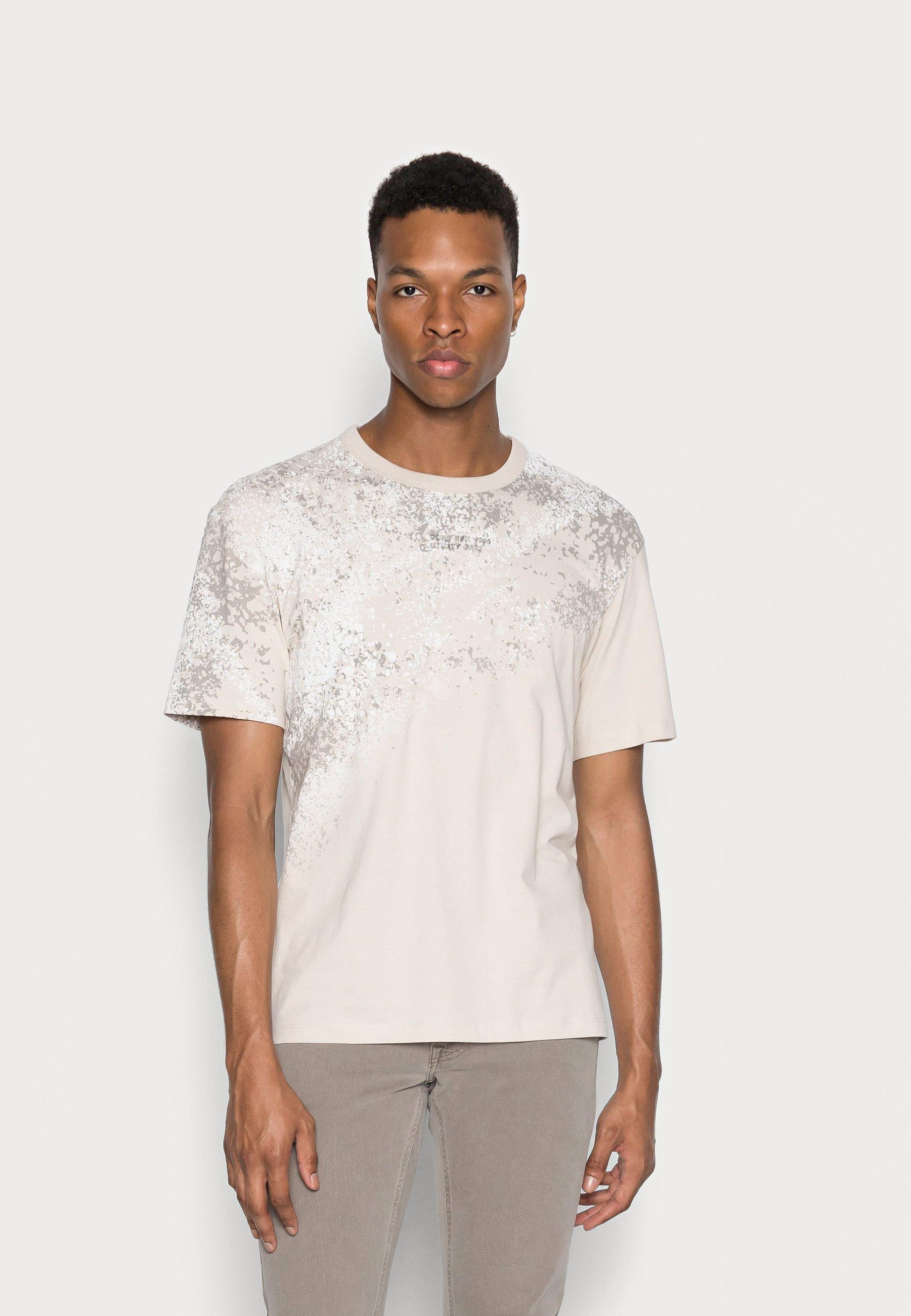 Homme JCONINES TEE CREW NECK - T-shirt imprimé