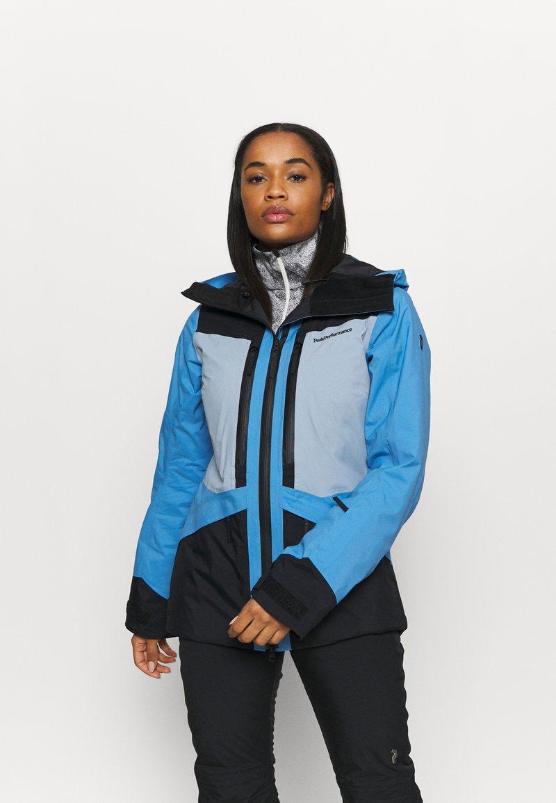 Peak Performance - GRAVITY JACKET - Ski jacket - ice glimpse