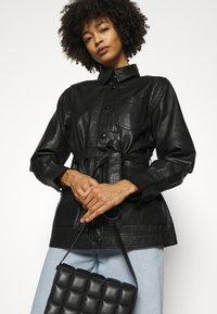 Part Two - HURI - Leather jacket - black - 3
