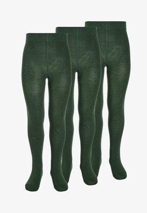 3 PACK - Tights - dark green