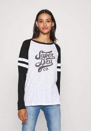 CODE BASEBALL - Camiseta de manga larga - white