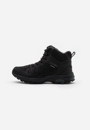 RAVEN MID WP - Hikingsko - black/charcoal