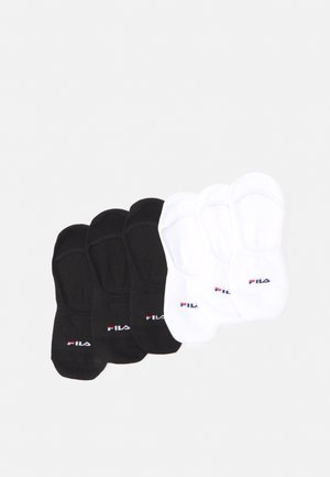 GHOST SOCKS 6 PACK UNISEX - Skarpety - black/white