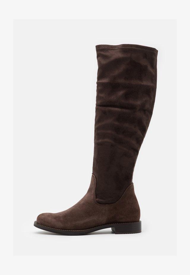 SARTORELLE  - Stivali alti - brown