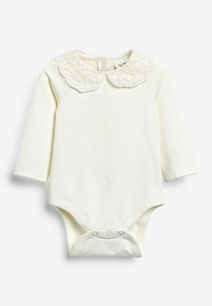 PINK LACE COLLAR BODY (0MTHS-3YRS) - Body - off-white