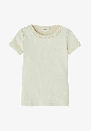T-shirt z nadrukiem - turtledove