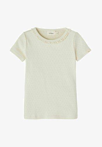 Print T-shirt - turtledove