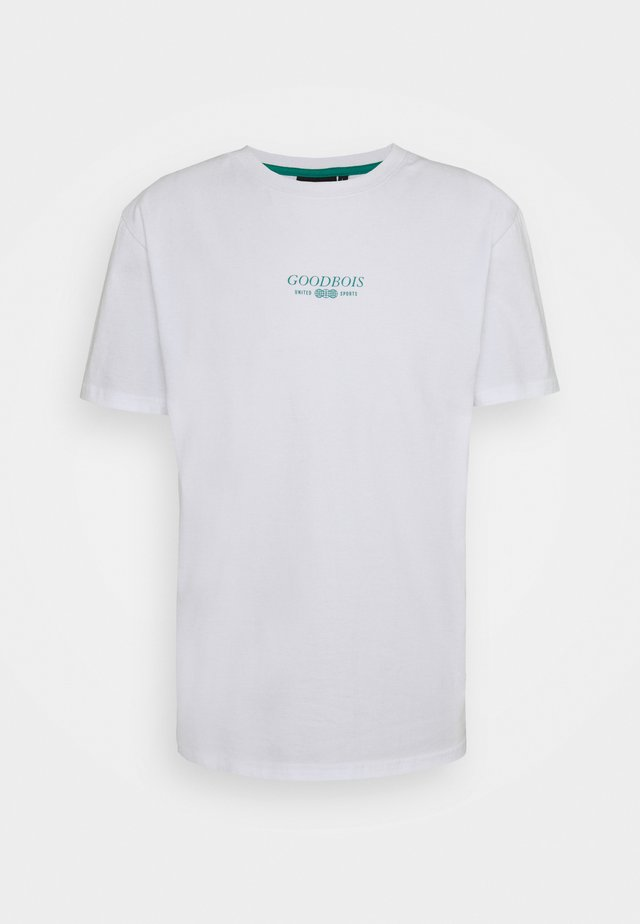 TRADEMARK - T-shirt imprimé - white