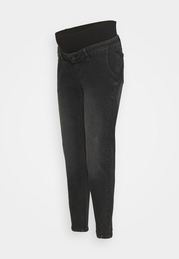 MLHOUSTON SLOUCHY - Jeans relaxed fit - black denim