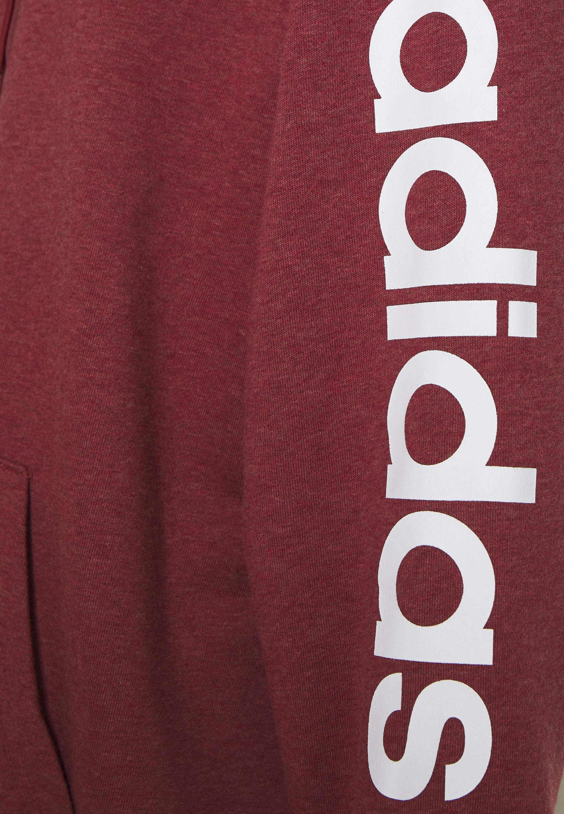 adidas Performance Zip-up hoodie - legred/white fkB3H