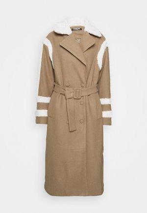 DARCEY - Classic coat - brown