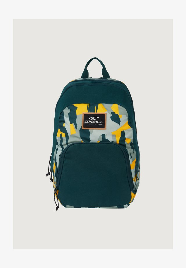 WEDGE BACKPACK - Rugzak - green aop