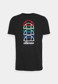 MAGARIO TEE - T-shirt med print - black