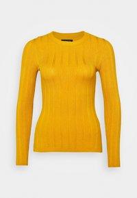 Jersey de punto - mustard