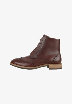 SARTORELLE TAILORED - Ankle boots - chocolat