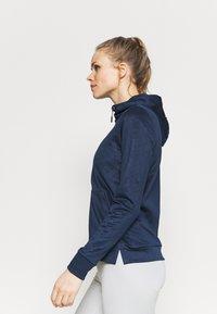 CMP - WOMAN FIX HOOD - Training jacket - blue - 3