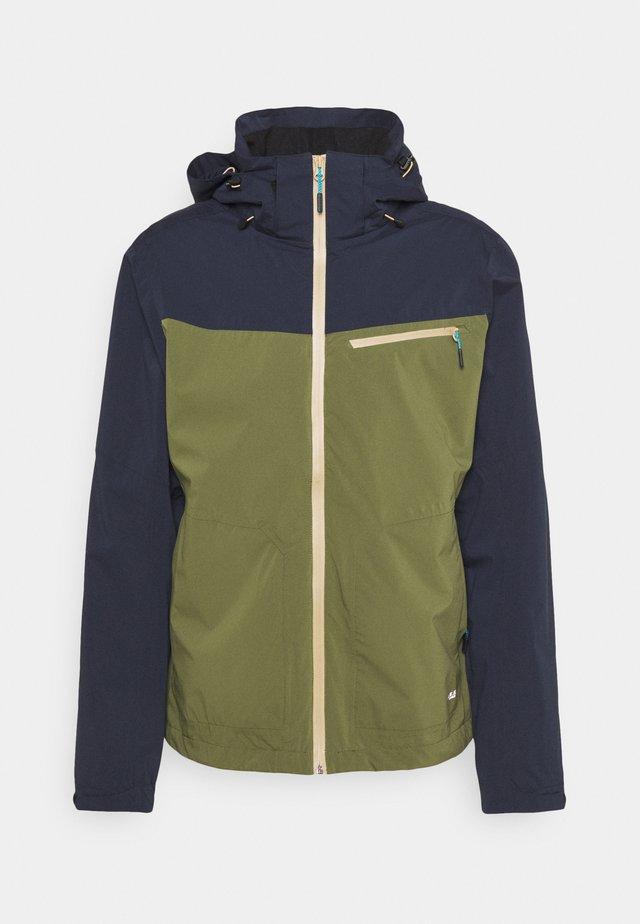 BEAVER - Outdoor jacket - dark olive