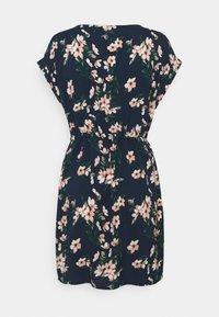 Vero Moda - VMSIMPLY EASY TIE SHORT DRESS - Day dress - navy - 1