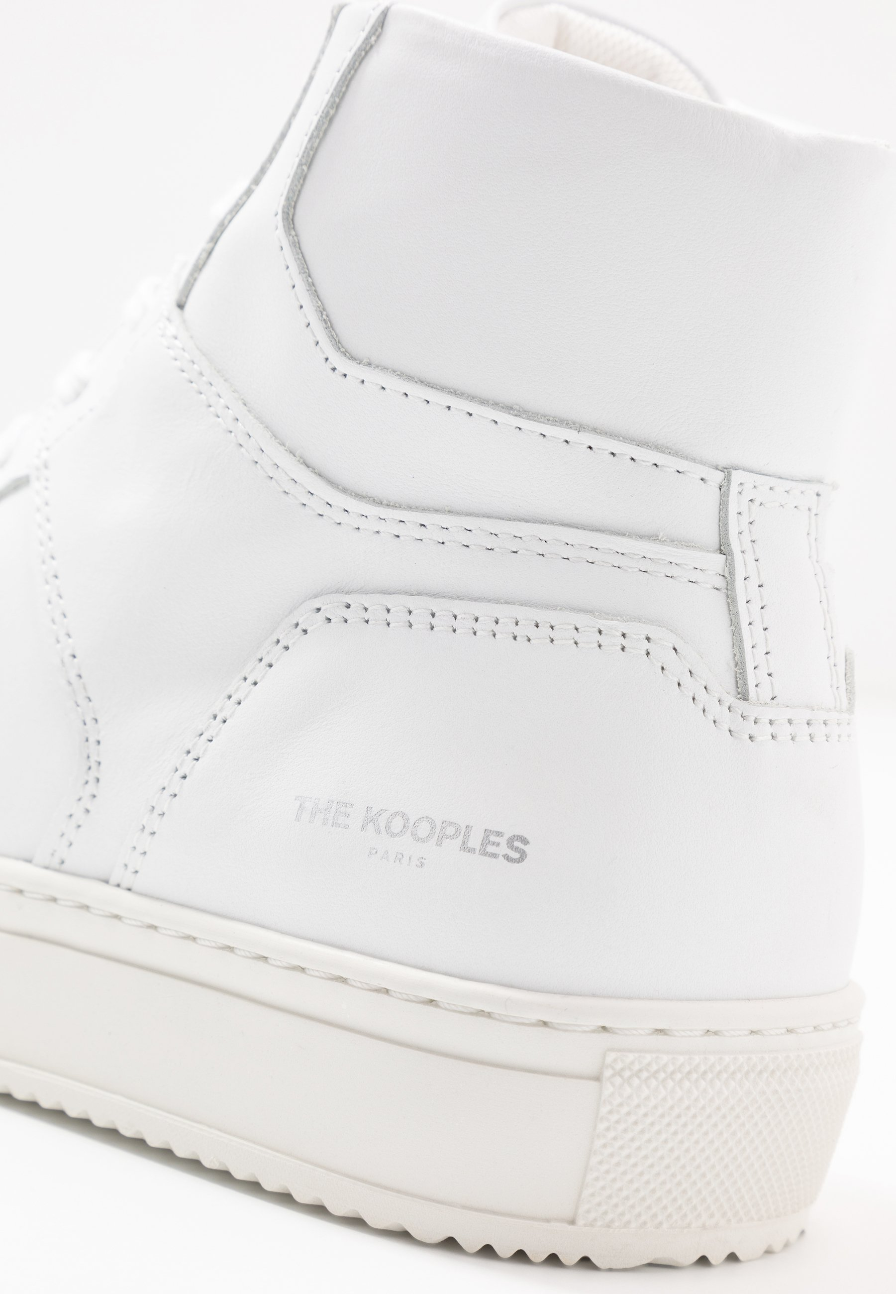 The Kooples Høye joggesko white Zalando.no