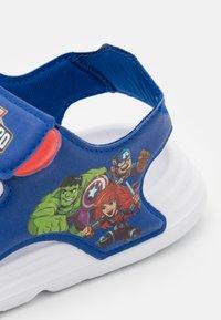 adidas Performance - SWIM UNISEX - Pool slides - team royal blue/footwear white/vivid red - 5