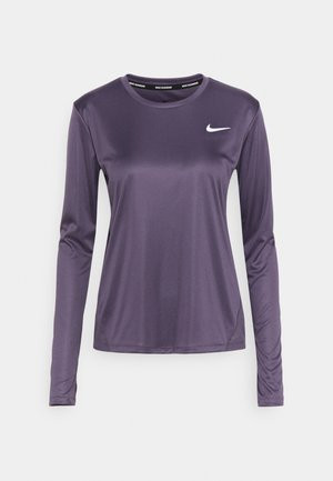 MILER - Funktionsshirt - dark raisin/silver