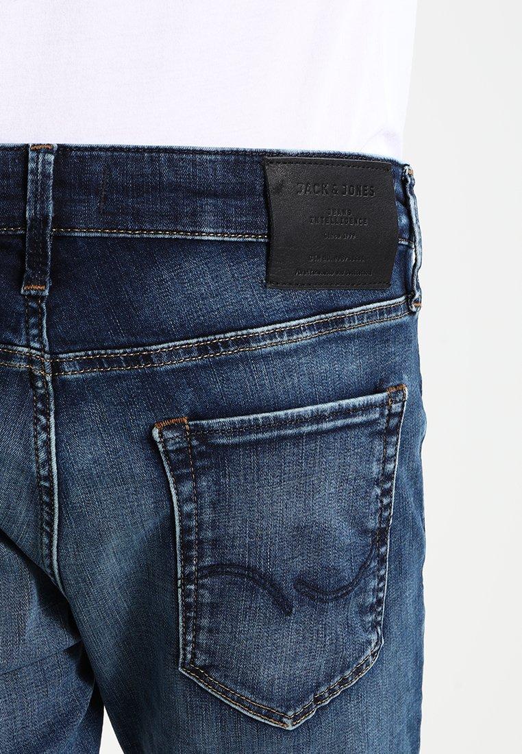 Jack & Jones JJIGLENN JJICON - Jeans Slim Fit - blue denim P4cowY