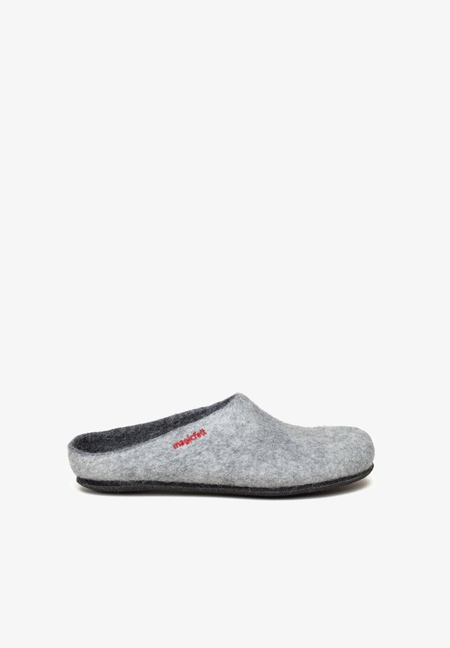 Slippers - light grey