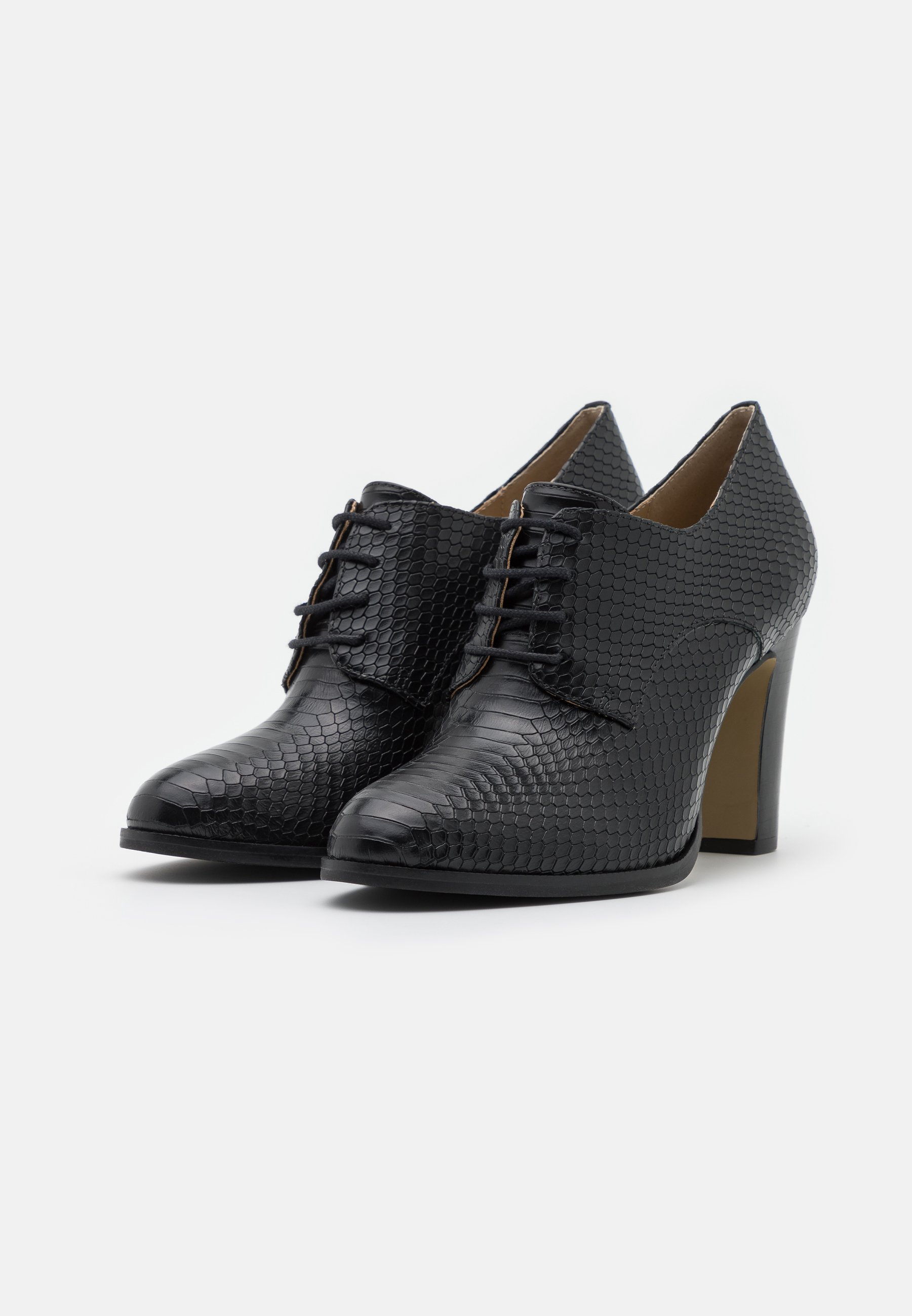 San Marina VIDYA High Heel Stiefelette noir/schwarz