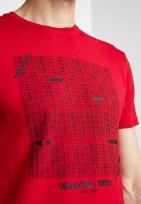Tiffosi - GIBSON - Print T-shirt - red - 4