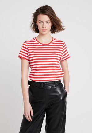 SOLLY TEE - T-shirt print - red