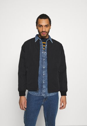 HYDE QUILTED BOMBER - Bomberjacks - black