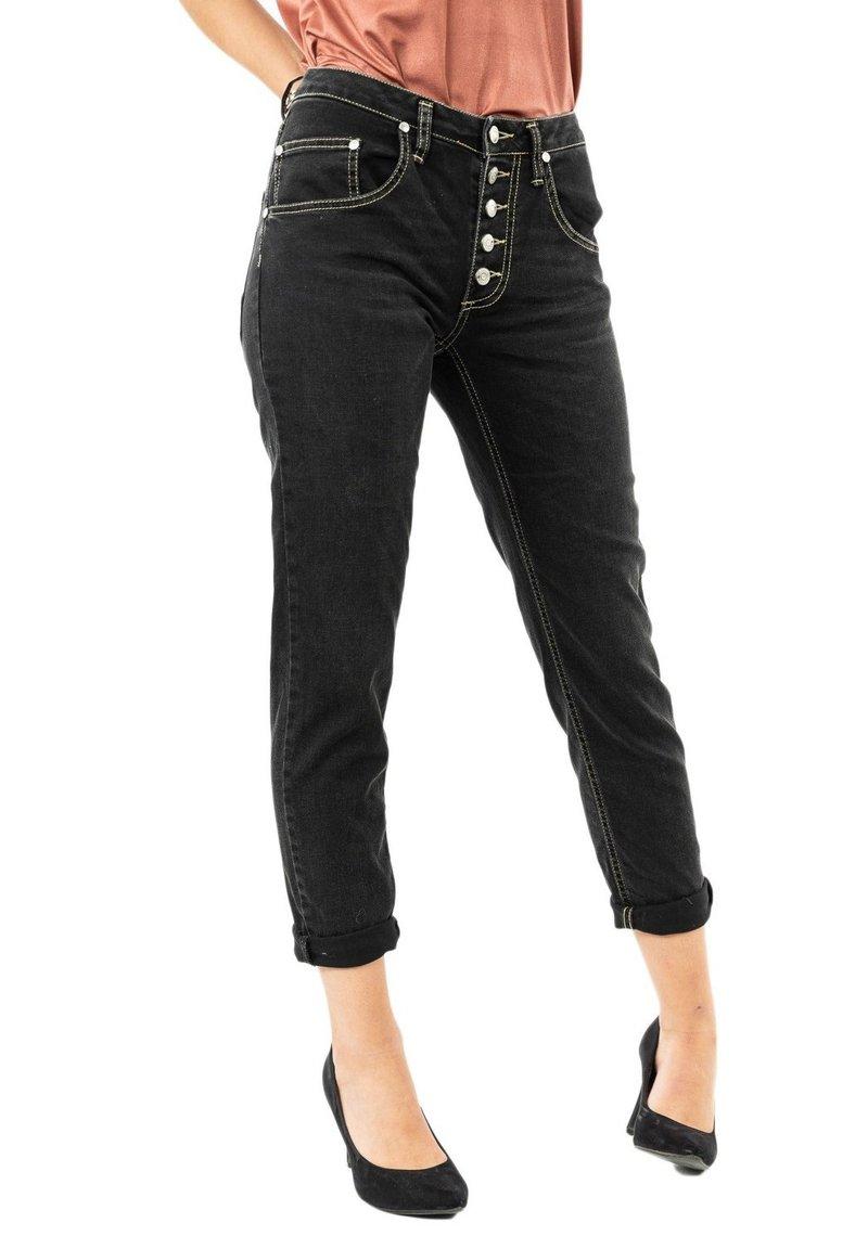 PLEASE - Slim fit jeans - noir