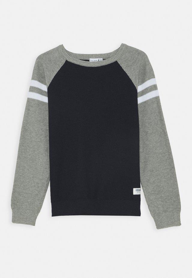 NKMVUSPER - Pullover - grey melange