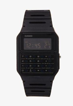 CA-53WF DIGITAL VINTAGE - Digitaal horloge - black