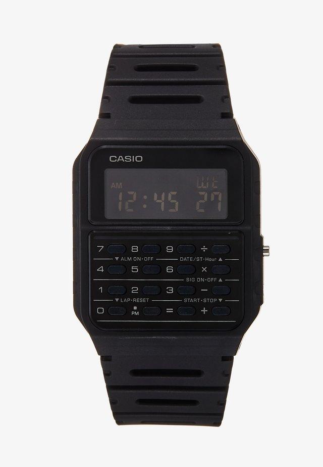 CA-53WF DIGITAL VINTAGE - Orologio digitale - black